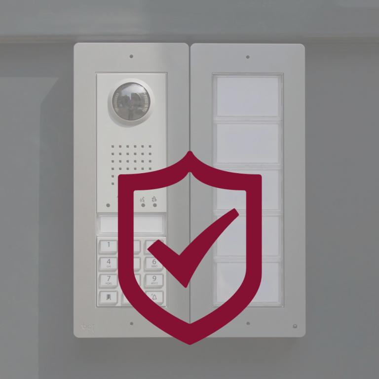 Systèmes d'accès, sécurité et portes blindées.